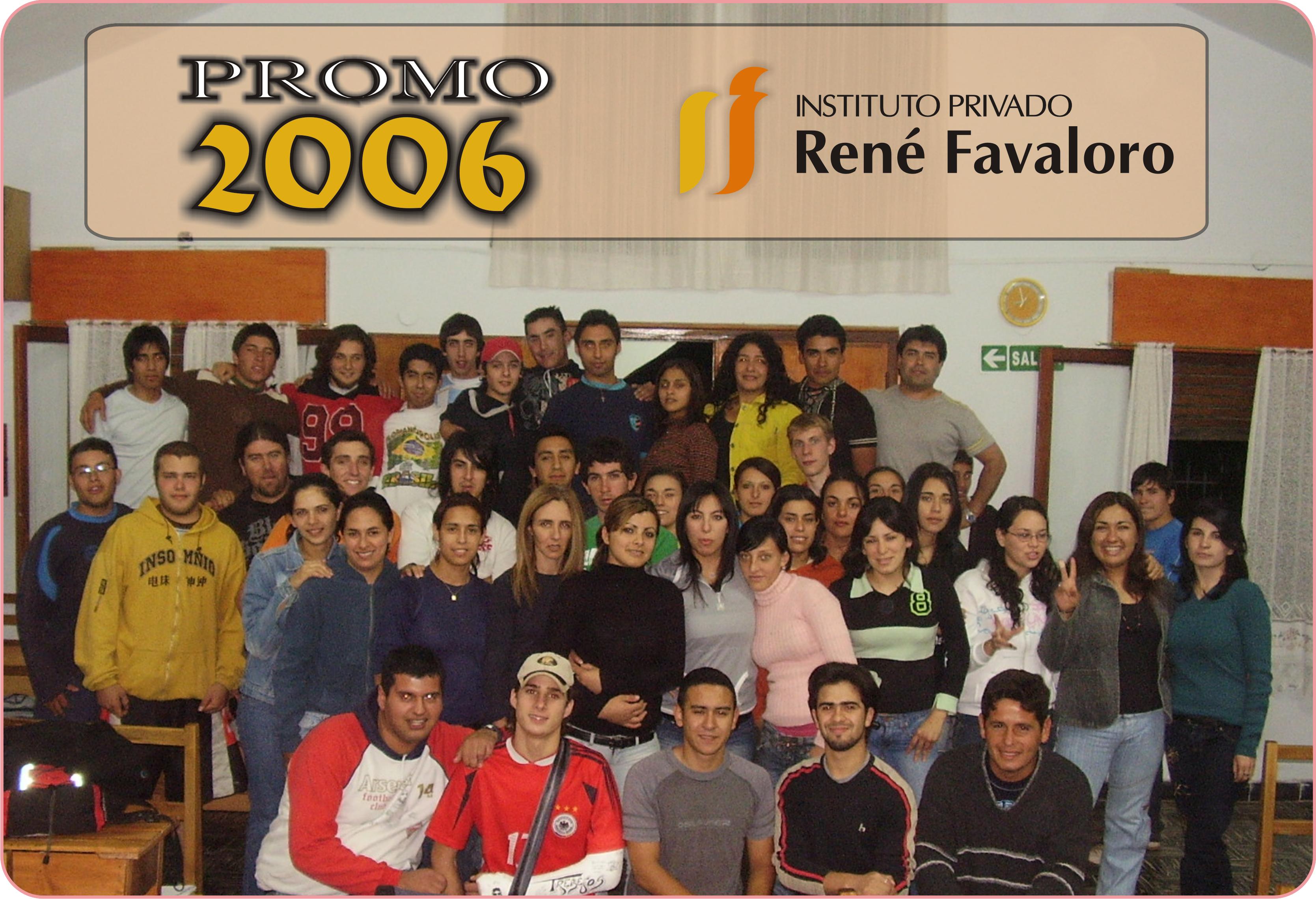 FAVALORO - PROMOCIÓN 2006